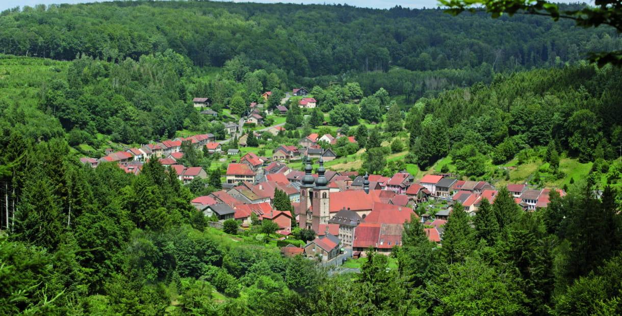 village de Saint-Quirin - Sarrebourg Moselle Sud